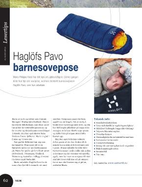 36b70c51 Lesertips AV ANDRÉ SPICA Haglöfs Pavo barnesovepose Maria Philippa Rossi  har delt tips om zipbra tidligere. Denne gangen deler hun tips om sovepose,  ...