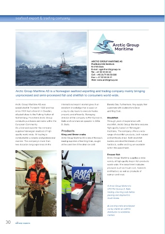 Page 30 - Norway export Seafood, Fishing&Aquaculture 2018-19